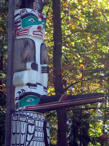 Native Education College Field Trip, Aboriginal Tourism Program: Stanley Park Totem Poles