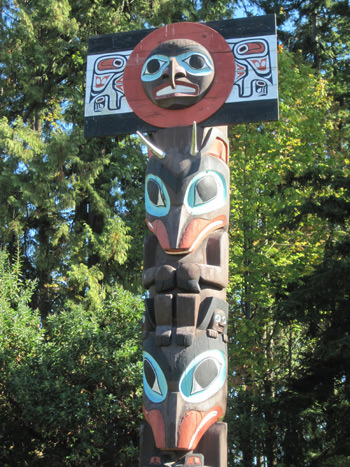 Native Education College Field Trip:  Stanley Park Totem Poles